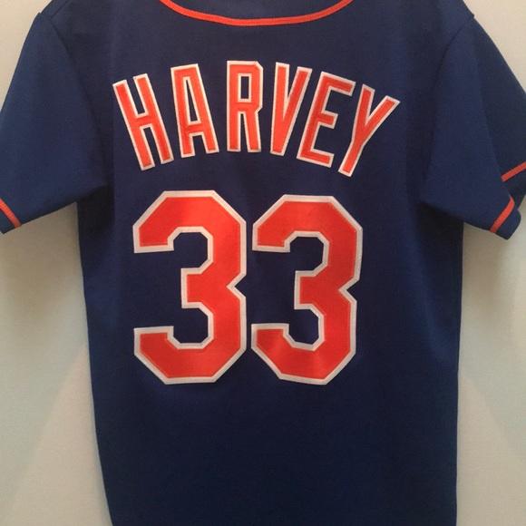 hot sale online 37dae e7c04 Majestic New York Mets Matt Harvey Jersey